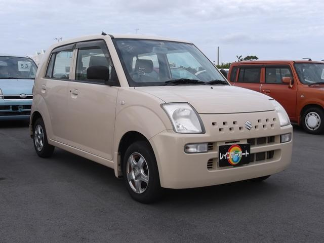 沖縄の中古車 スズキ アルト 車両価格 23万円 リ済込 平成20年 8.6万km ベージュ