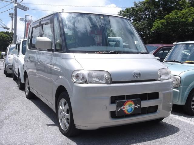 沖縄の中古車 ダイハツ タント 車両価格 20万円 リ済込 平成17年 8.8万km ゴールド