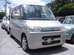 沖縄の中古車 ダイハツ タント 車両価格 20万円 リ済込 平成17年 8.8万K ゴールド