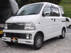 沖縄の中古車 ダイハツ アトレーワゴン 車両価格 18万円 リ済込 平成13年 13.5万K ホワイト