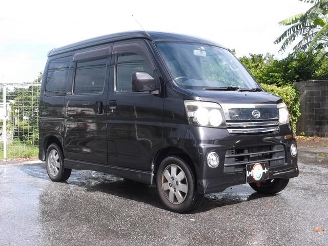 沖縄県の中古車ならアトレーワゴン カスタムターボRS ブラックエディション