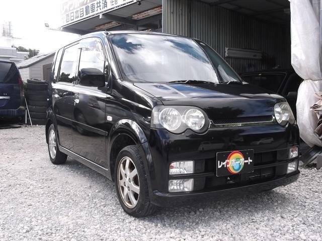 沖縄の中古車 ダイハツ ムーヴ 車両価格 19万円 リ済込 2003(平成15)年 7.2万km ブラック