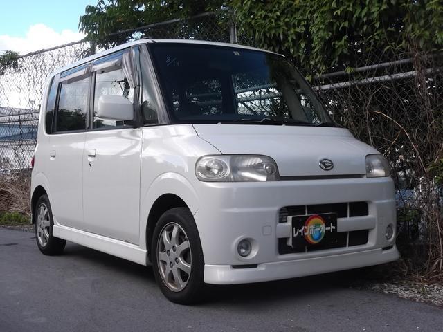沖縄県の中古車ならタント Rターボ