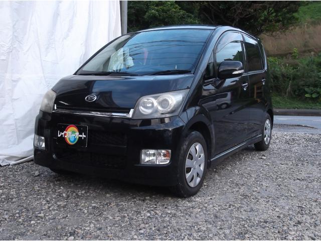 沖縄の中古車 ダイハツ ムーヴ 車両価格 18.8万円 リ済込 2007(平成19)年 10.0万km ブラック