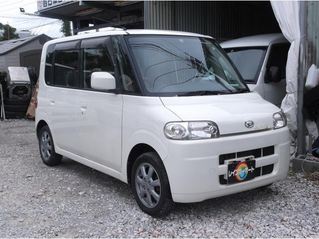 沖縄の中古車 ダイハツ タント 車両価格 19.8万円 リ済込 平成17年 9.2万km パールホワイト