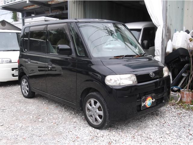沖縄の中古車 ダイハツ タント 車両価格 22万円 リ済込 平成18年 7.0万km ブラック