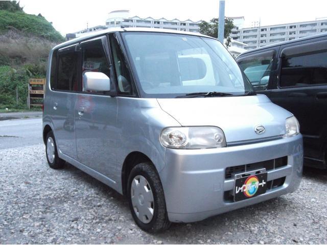 沖縄の中古車 ダイハツ タント 車両価格 18万円 リ済込 平成19年 11.4万km シルバー