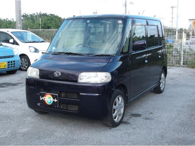 沖縄の中古車 ダイハツ タント 車両価格 19.8万円 リ済込 平成16年 10.6万km パープル