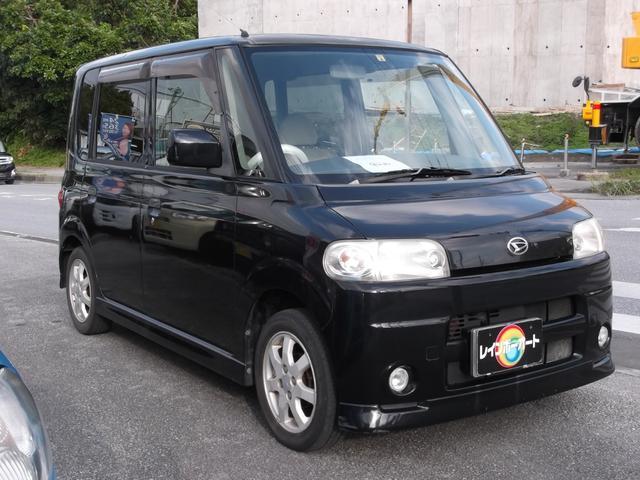沖縄の中古車 ダイハツ タント 車両価格 21.8万円 リ済込 2004(平成16)年 11.9万km ブラック