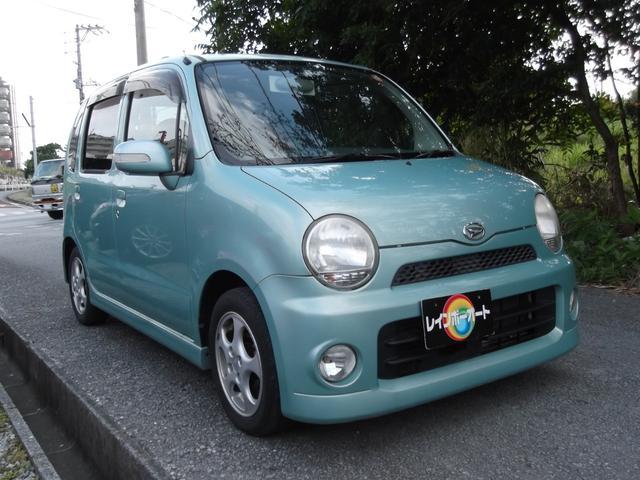 沖縄の中古車 ダイハツ ムーヴラテ 車両価格 17.8万円 リ済込 2006(平成18)年 10.2万km グリーン