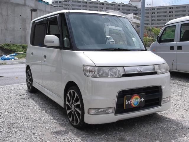 沖縄県の中古車ならタント カスタムRSターボ・5モニター