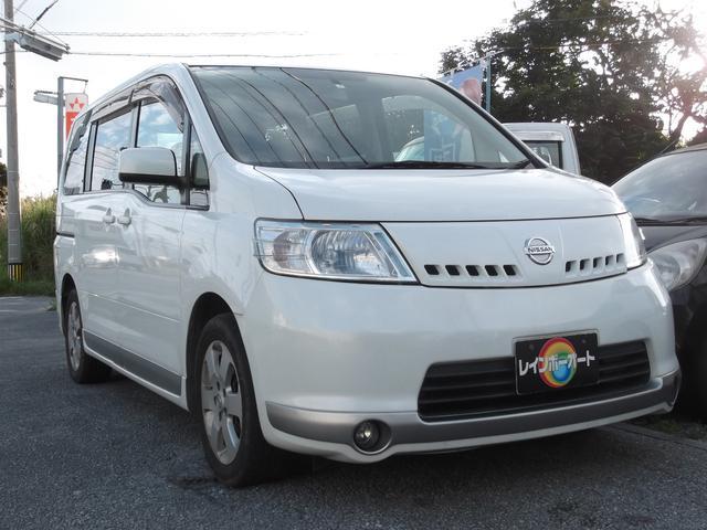 沖縄の中古車 日産 セレナ 車両価格 12万円 リ済別 2006(平成18)年 18.0万km ホワイト