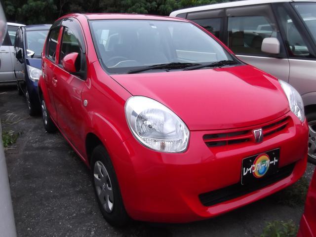 沖縄の中古車 トヨタ パッソ 車両価格 14.8万円 リ済別 2013(平成25)年 4.5万km レッド