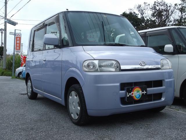 沖縄の中古車 ダイハツ タント 車両価格 19.8万円 リ済別 2004(平成16)年 9.8万km ライトパープルM