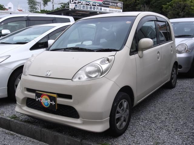 沖縄の中古車 ホンダ ライフ 車両価格 12万円 リ済別 2004(平成16)年 9.0万km バニラ