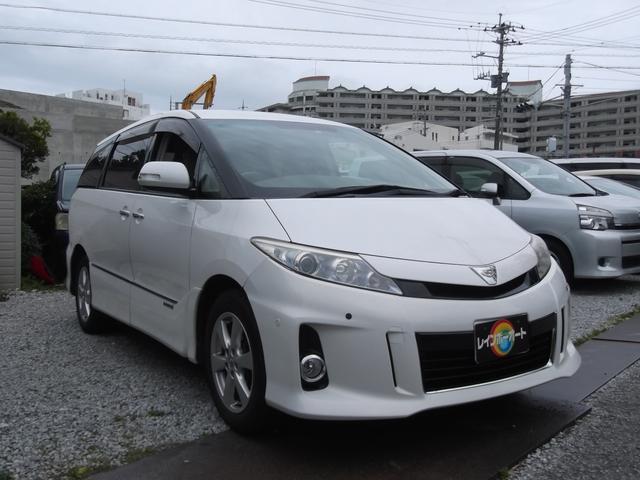 沖縄県の中古車ならエスティマハイブリッド G