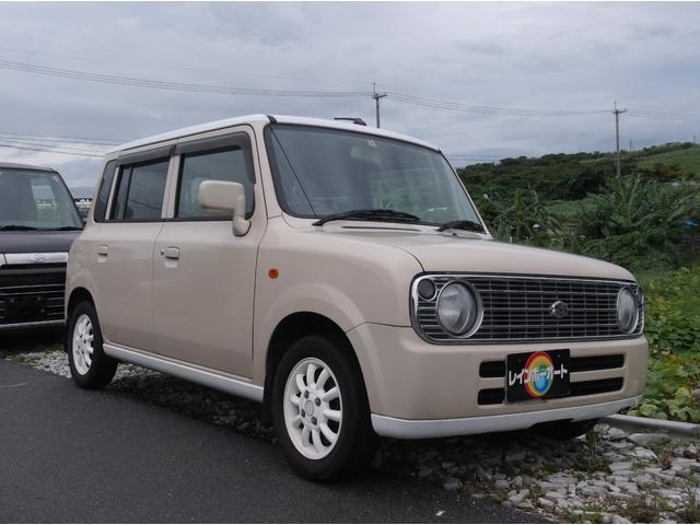 沖縄の中古車 スズキ アルトラパン 車両価格 19.8万円 リ済別 2008(平成20)年 11.0万km ライトブラウン