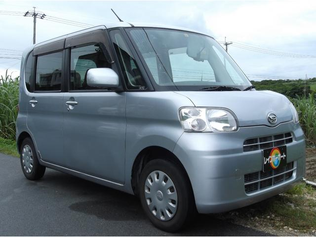 沖縄県の中古車ならタント Xリミテッド新品バッテリー 新品ワイパー 新品タイヤ4本