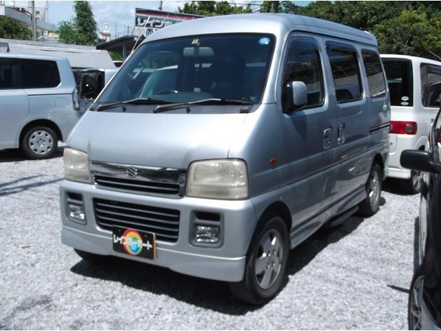 沖縄県の中古車ならエブリイワゴン ジョイポップターボPZ