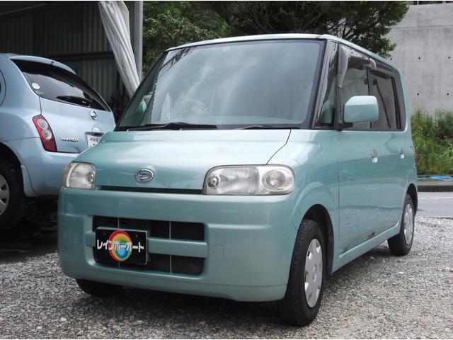 沖縄の中古車 ダイハツ タント 車両価格 14.8万円 リ済別 2004(平成16)年 12.0万km グリーン