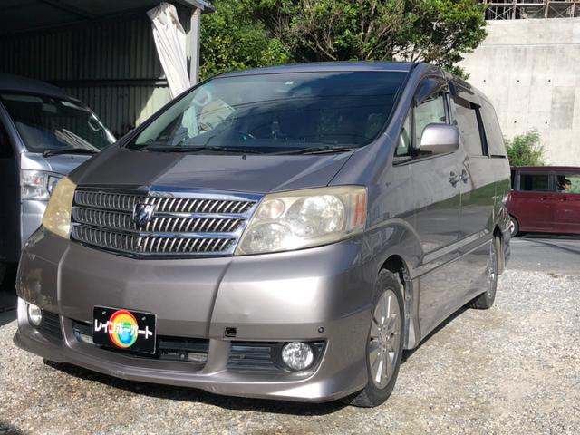 沖縄県の中古車ならアルファードG MS