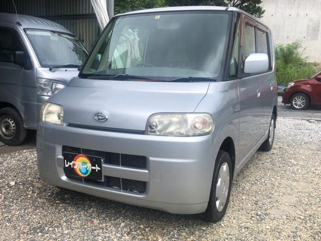 沖縄の中古車 ダイハツ タント 車両価格 17.8万円 リ済別 2006(平成18)年 9.5万km シルバーM