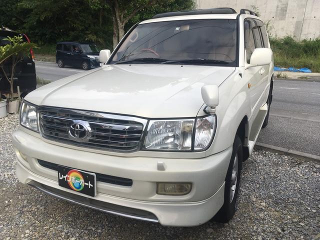 沖縄県の中古車ならランドクルーザー100 アクティブバケーション