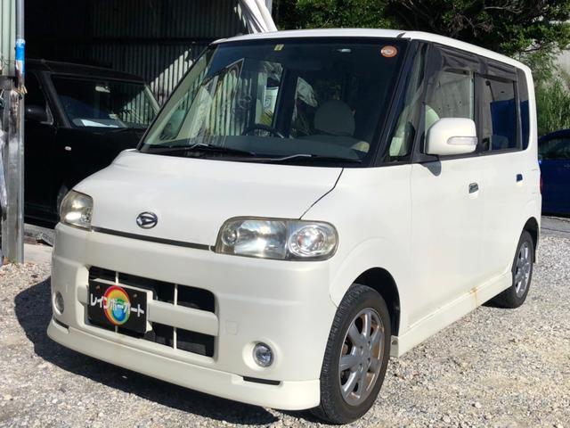 沖縄の中古車 ダイハツ タント 車両価格 19.8万円 リ済別 2006(平成18)年 7.7万km パールホワイト