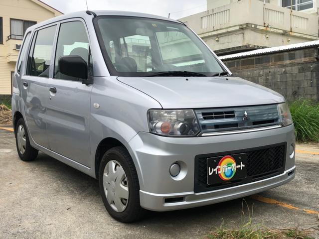 沖縄の中古車 三菱 トッポ 車両価格 18.8万円 リ済別 2008(平成20)年 7.6万km シルバーM