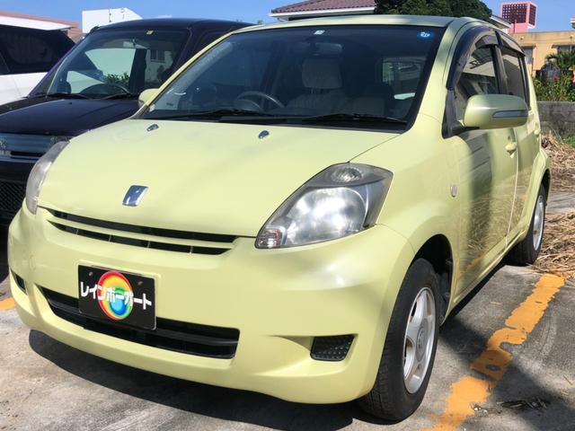 沖縄の中古車 トヨタ パッソ 車両価格 12.8万円 リ済別 2009(平成21)年 6.0万km ライトイエロー
