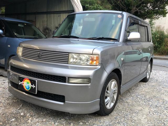 沖縄の中古車 トヨタ bB 車両価格 14万円 リ済別 2004(平成16)年 12.0万km グレーM