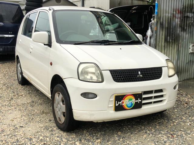 沖縄の中古車 三菱 ミニカ 車両価格 5.8万円 リ済別 2005(平成17)年 11.0万km ホワイト