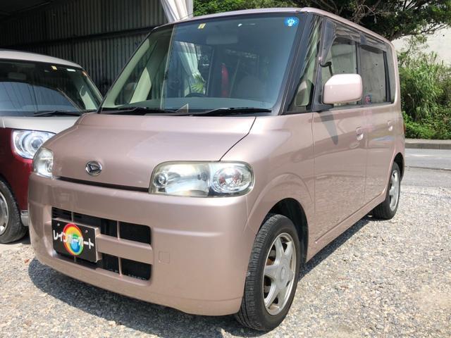 「ダイハツ」「タント」「コンパクトカー」「沖縄県」「レインボーオート」の中古車