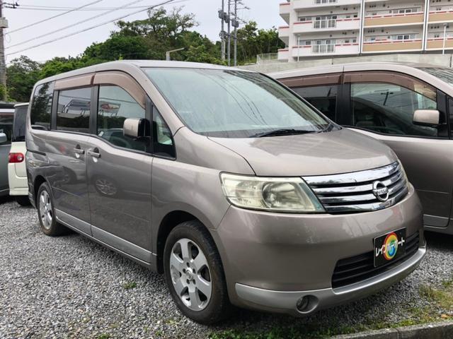 沖縄の中古車 日産 セレナ 車両価格 13.8万円 リ済別 2006(平成18)年 16.0万km グレーM