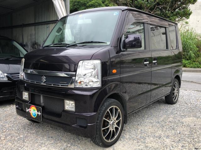 沖縄県の中古車ならエブリイワゴン JPターボ