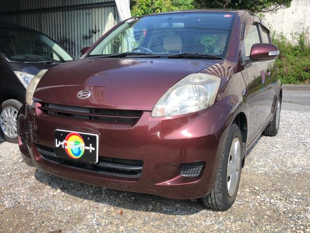 沖縄の中古車 ダイハツ ブーン 車両価格 18.8万円 リ済別 2008(平成20)年 4.0万km Dブラウン