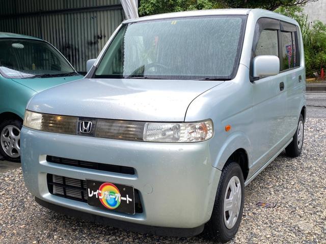 沖縄の中古車 ホンダ ザッツ 車両価格 14.8万円 リ済別 2007(平成19)年 5.7万km Lグリーン