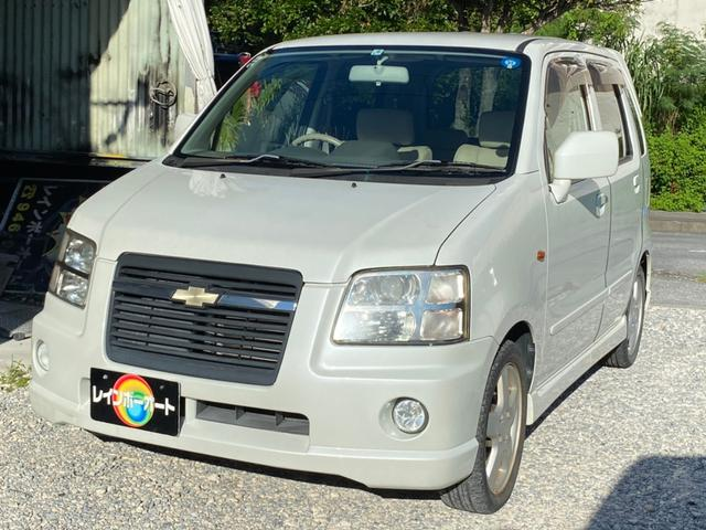 沖縄の中古車 シボレー シボレーMW 車両価格 19.8万円 リ済別 2009(平成21)年 3.5万km ホワイト