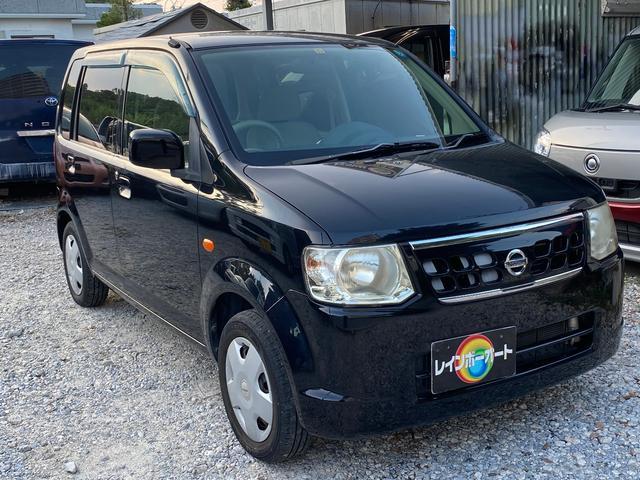 沖縄の中古車 日産 オッティ 車両価格 12.8万円 リ済別 2009(平成21)年 10.2万km ブラック