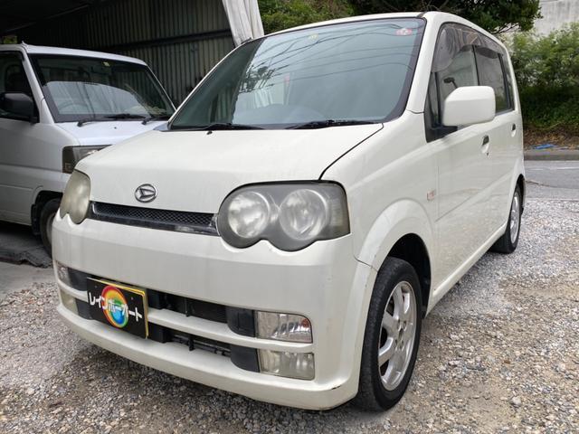 沖縄の中古車 ダイハツ ムーヴ 車両価格 8.8万円 リ済別 2004(平成16)年 11.6万km ホワイト