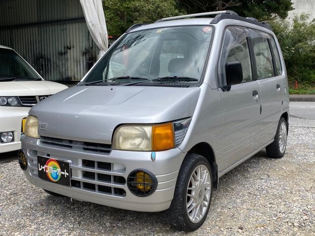 沖縄の中古車 ダイハツ ムーヴ 車両価格 12.8万円 リ済別 1996(平成8)年 走不明 シルバー