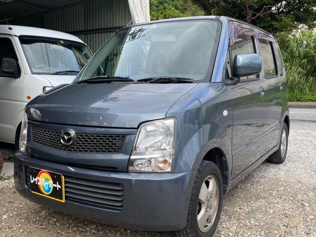 沖縄の中古車 マツダ AZワゴン 車両価格 11.8万円 リ済別 2008(平成20)年 9.8万km グレー