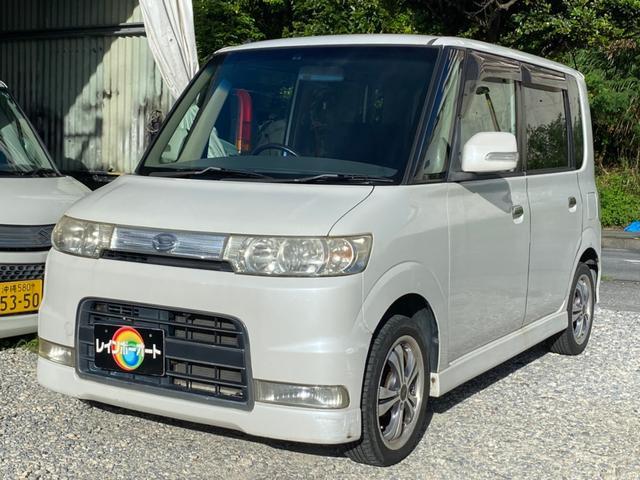 沖縄の中古車 ダイハツ タント 車両価格 15.8万円 リ済別 2007(平成19)年 10.8万km ホワイト