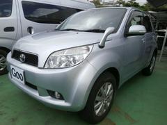 沖縄の中古車 トヨタ ラッシュ 車両価格 65万円 リ済込 平成19年 7.2万K シルバー