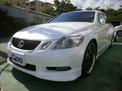 沖縄の中古車 レクサス GS 車両価格 79万円 リ済込 平成18年 15.9万K パールホワイト