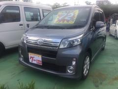 沖縄の中古車 ダイハツ ムーヴ 車両価格 72万円 リ済込 平成26年 10.5万K グレー