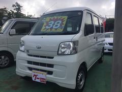 沖縄の中古車 ダイハツ ハイゼットカーゴ 車両価格 38万円 リ済込 平成21年 7.4万K ホワイト