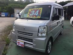 沖縄の中古車 スズキ エブリイ 車両価格 34万円 リ済込 平成19年 16.7万K シルバー