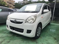 沖縄の中古車 ダイハツ ミラ 車両価格 20万円 リ済込 平成21年 11.3万K ホワイト
