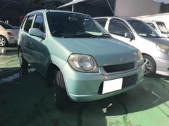 沖縄の中古車 スズキ Kei 車両価格 14万円 リ済込 平成18年 8.6万K Lグリーン